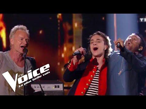 Sting (Englishman in New York)   Xam Hurricane et Sting   The Voice 2018   Finale
