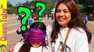 ตื่นตี 3 ทำเซอร์ไพรส์ ฝันที่เป็นจริง ของน้องควีน ฮ่องกง ดิสนีย์แลนด์ Surprise Hong Kong Disneyland!