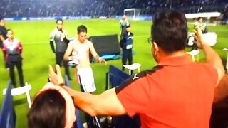 Padre llora de emoción al ver a su hijo debutar como Profesional | Fútbol Social