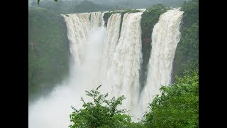 JOG FALLS DRONE Karnataka (Shimoga)sagar(T)Highest Water falls South India 2018 [part]2