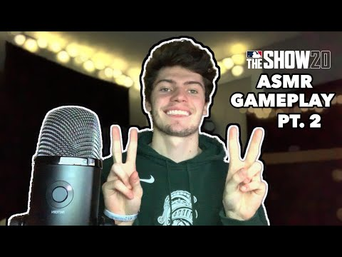 ASMR – MLB The Show 20 Pt.2 (Gaming ASMR)
