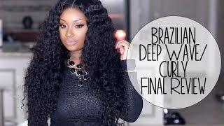 Final Review | Hair Envyous Boutique Brazilian Deep Wave Curly Hair Extensions!