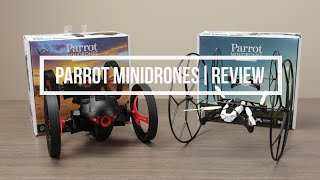 Parrot Minidrones - Rolling Spider & Jumping Sumo | Review