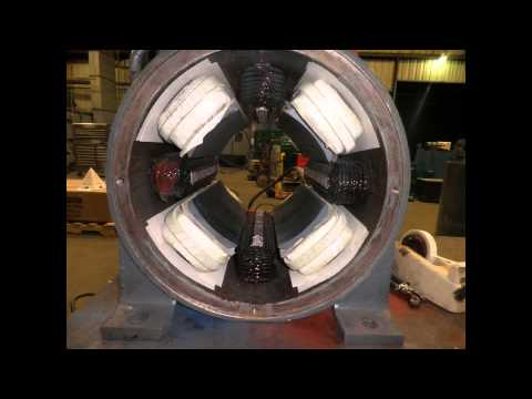 DC Motor with Field Poles