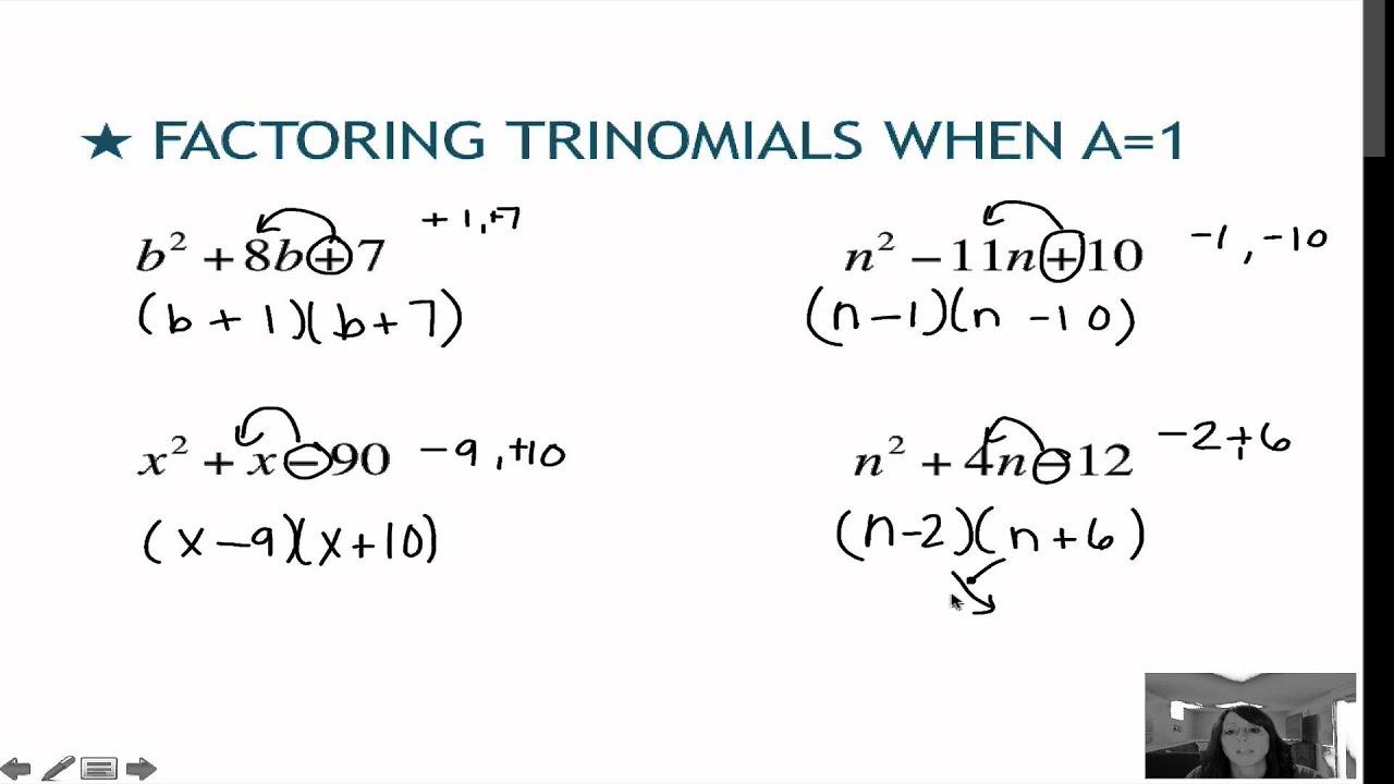 worksheet. Factoring Trinomials A 1. Worksheet Fun ...