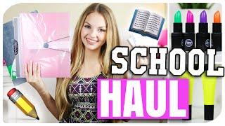 BACK TO SCHOOL SUPPLIES HAUL | NEUE Sachen für die SCHULE/ UNI | deutsch 2015