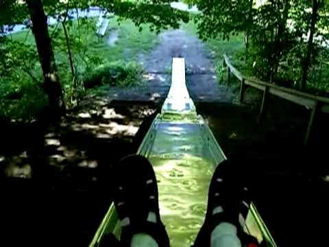 Worlds Longest Playground Slide Ravenna Michigan Youtube