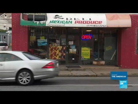 US - Pennsylvania town of Hazleton faces influx of migrants