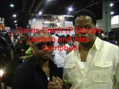 alex-campbell-and-p.diddy's-barber,-curtis-smith-at-2009-bronner-brothers-hairshow.