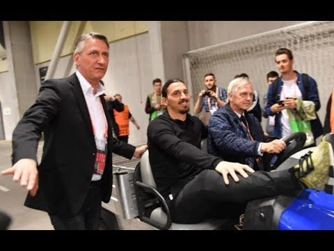Saking Senangnya Ibrahimovic Ganti Nama Stadion Menjadi Zlatan Arena