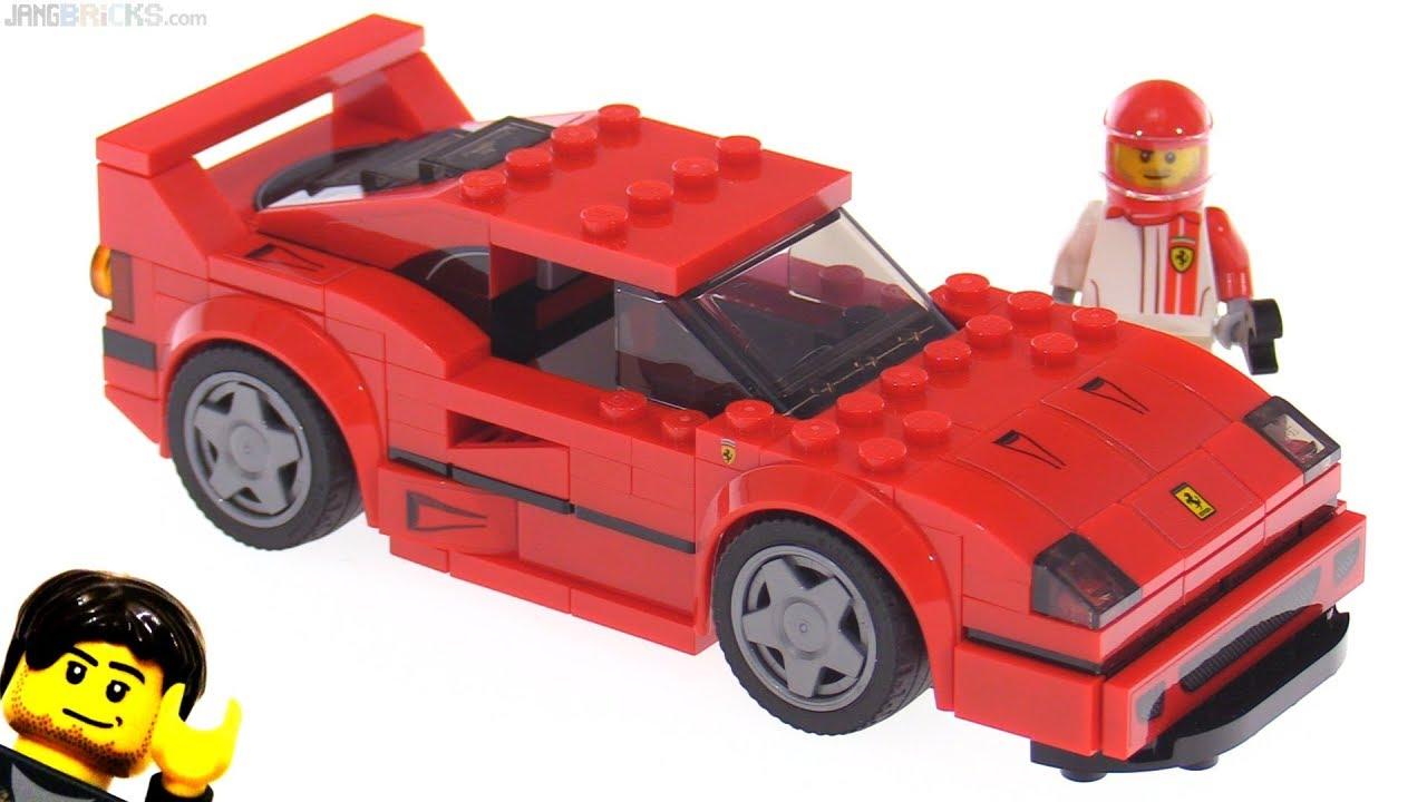 lego speed champions ferrari f40 review 75890 youtube. Black Bedroom Furniture Sets. Home Design Ideas