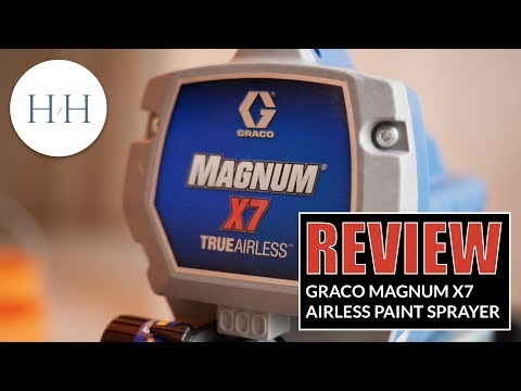 Graco Magnum X7 Airless Paint Sprayer Review (and priming a whole home!)