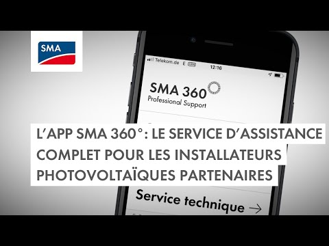 L'app SMA 360° : le service d'assistance complet pour les installateurs photovoltaïques partenaires