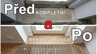 Kompletní rekonstrukce podlahy