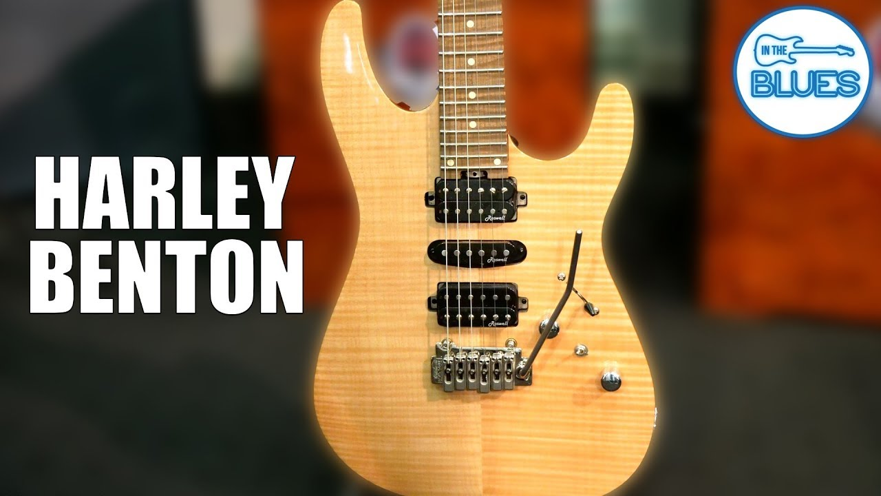 Harley Benton Fusion-HSH Roasted NT Electric Guitar Review with Dr  Ric