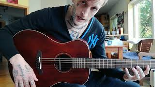 145 € Folk Guitar Review - Baton Rouge X11LS/F - SCR