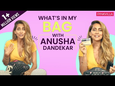 What's in my bag with Anusha Dandekar | Fashion | Bollywood | Pinkvilla