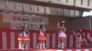 「White Rabbits」で、「鳥取県 いなば農産物フェスタ」2018年10月14日...