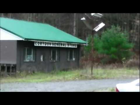 abandoned ghost town: corydon, pennsylvania