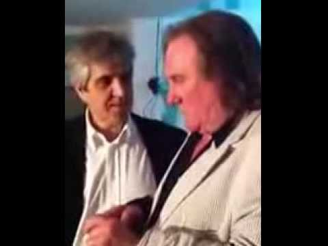 Daniel Cataldo and Depardieu