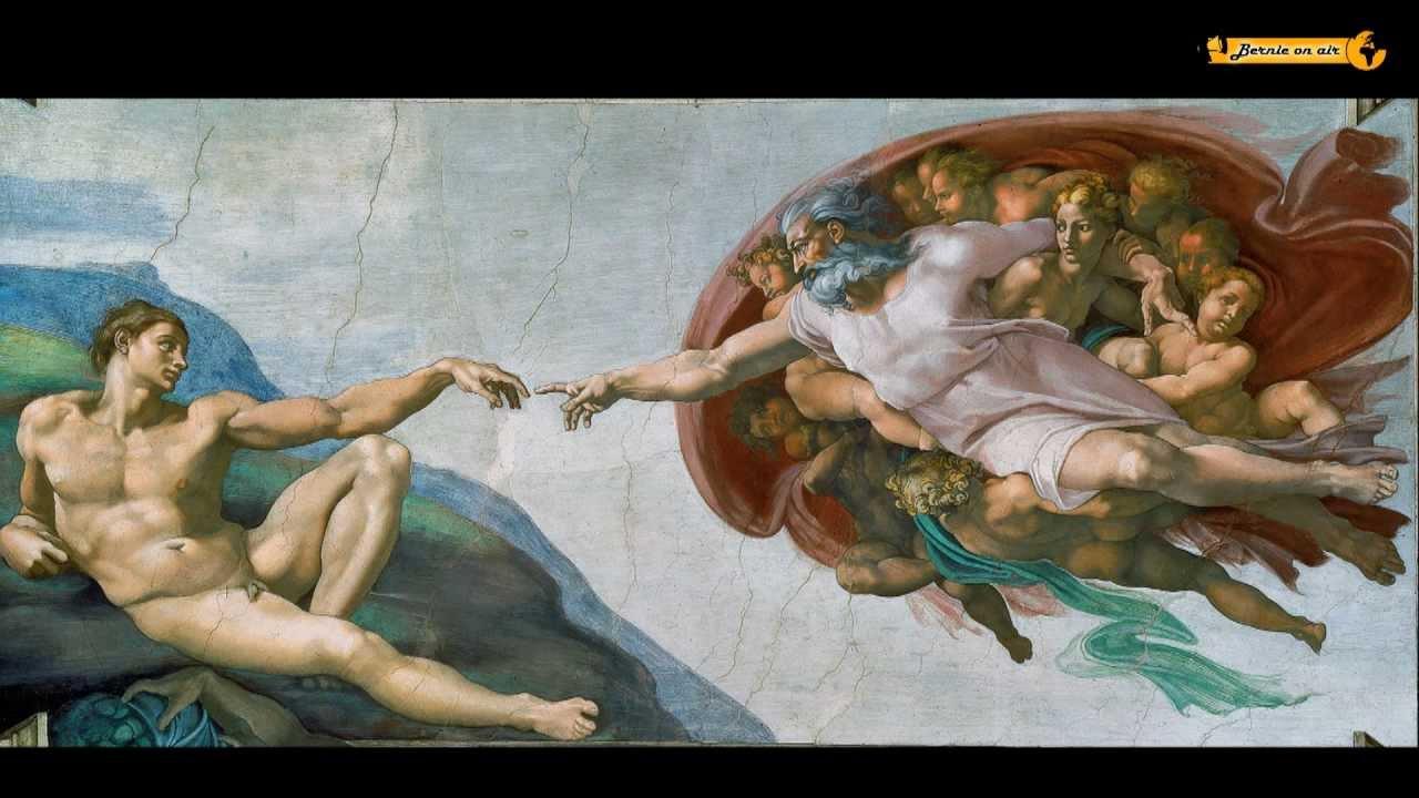 Michelangelo Die Erschaffung des Adam Creation of Sistine Chapel