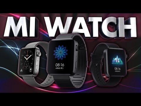 Mi Watch - Первые умные часы от Xiaomi. Маленький смартфон на руке
