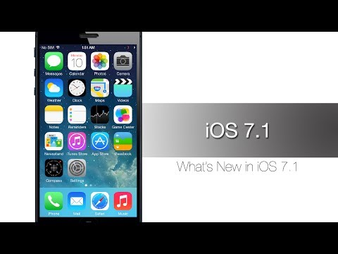 New IOS 7.1 Features And Improvements - IPhone Hacks