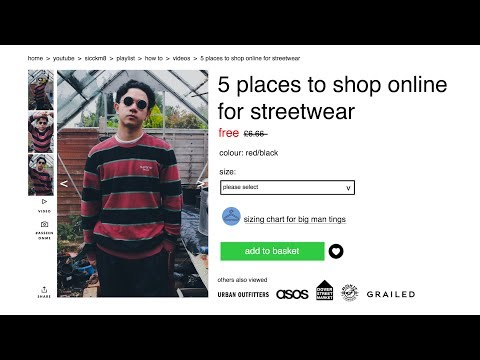 TOP 5 PLACES TO SHOP ONLINE FOR STREETWEAR
