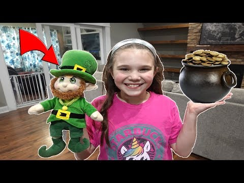 Lucky The Leprechaun Is Back! St. Patrick's Day Leprechaun Returns!
