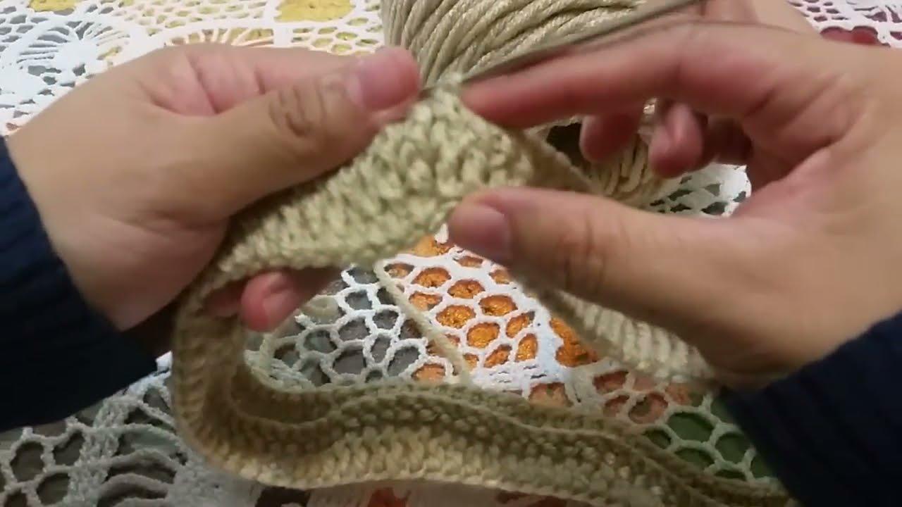 Diadema banda invernal en crochet youtube - Diademas a crochet ...