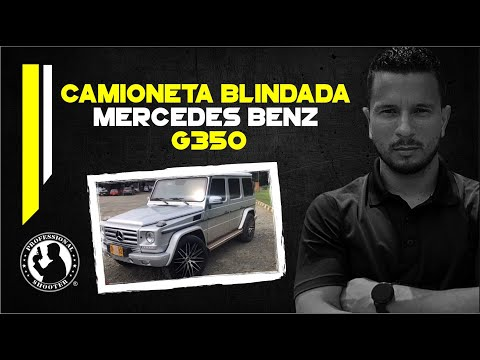 Mercedes Benz G350 Blindaje 5 Colombia