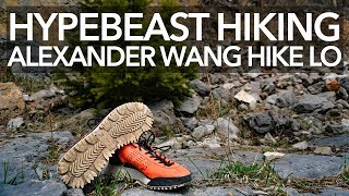 free shipping d97e9 f5fb0 Can I hike in these Alexander Wang Hike Lo BOOST sneakers