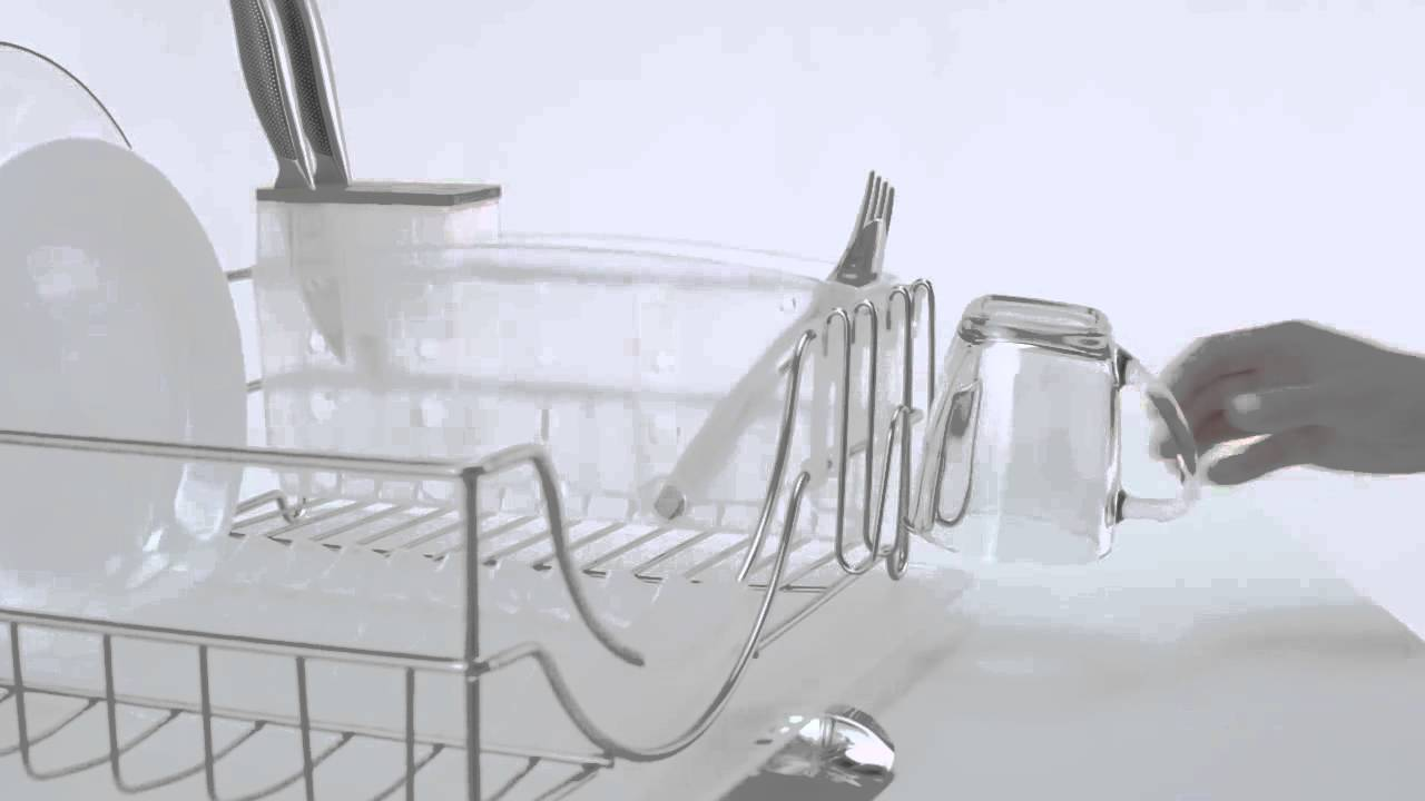 Uncategorized Simplehuman System Dish Rack system dishrack kt1111 youtube kt1111