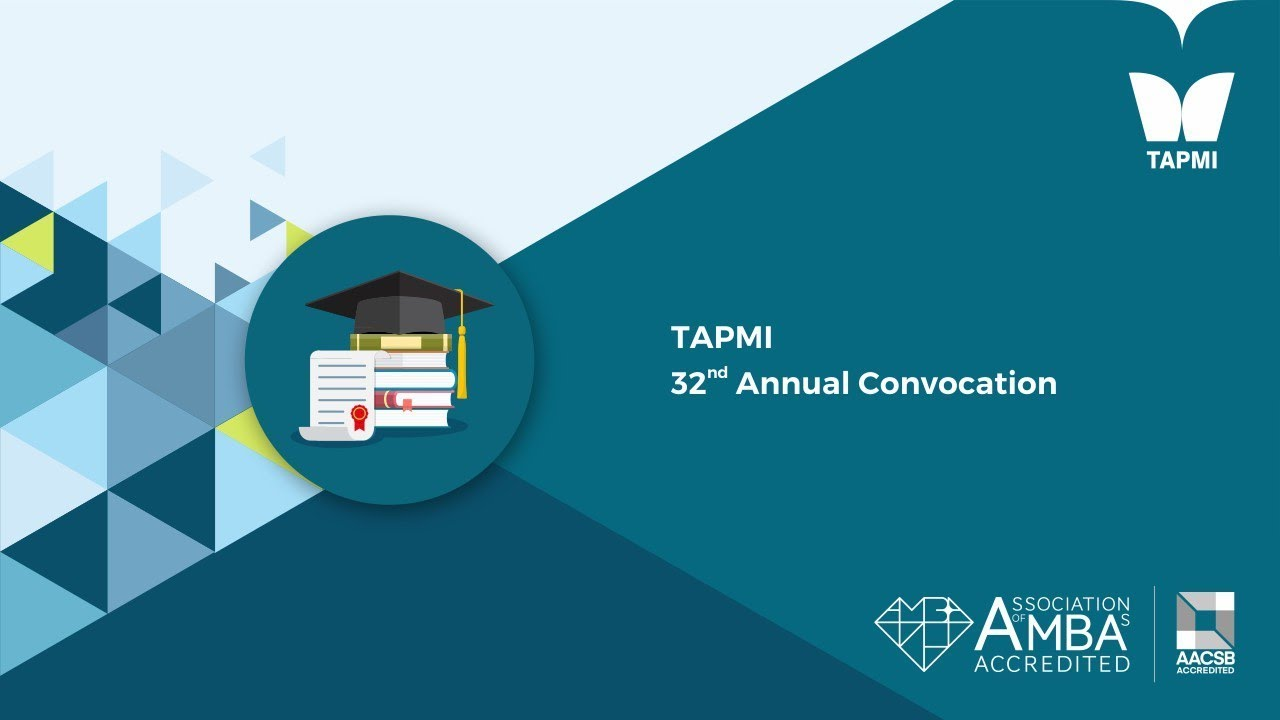 TAPMI 32nd Convocation 2018