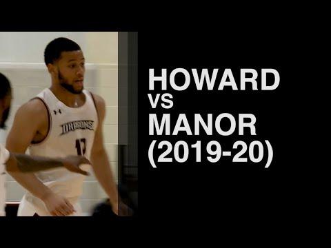 Howard CC vs Manor College (2019-20 NJCAA Men's Basketball)