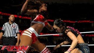 Gambar cover Naomi & Cameron vs. AJ Lee & Layla: Raw, August 19, 2013