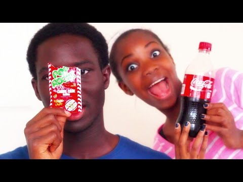 Pop Rocks and Soda Experiment (FT. MY BROTHER)