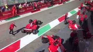 Finali Mondiali Ferrari 2017, ai box del Mugello - Agipress