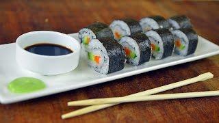 Как готовить суши и роллы