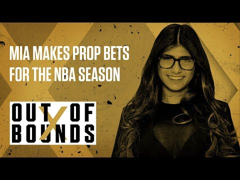 Mia Khalifa's Out Of Bounds Prop Bets | Out of Bounds