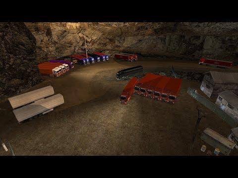 Открытый Конвой от Alfa Trans Logistic по Euro Truck Simulator 2