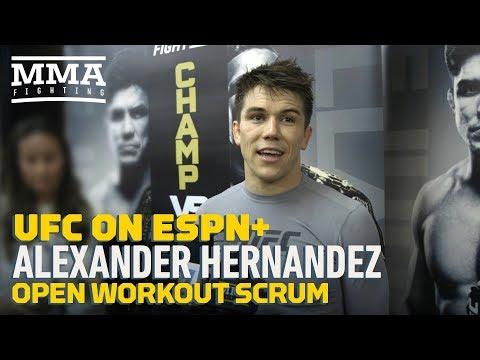 UFC Brooklyn: Prospect Anthony Hernandez Predicts 'Violent Handoff' From Veteran Donald Cerrone