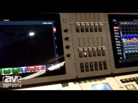 ISE 2014: Martin Professional Demonstrates M6 Lighting Controller