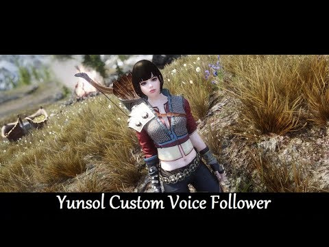 Repeat Skyrim Mods: EOMSIC Yunsol Custom Voice Follower by Jindo