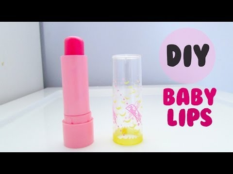 DIY Baby Lips | Tinted Lip Balm