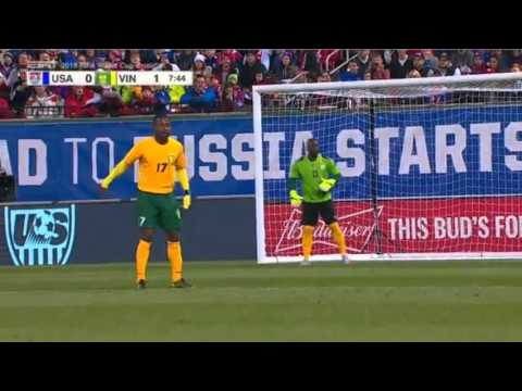 USA vs St. Vincent and the Grenadines - Nov 13, 2015 (WC Qualifier) - Full Match
