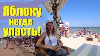 """Голубицкая, 2019 - самый популярный пляж """"Кавказ"""" на Азовском море"""