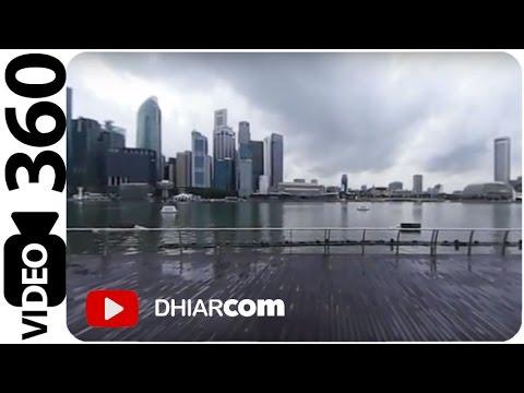 VIDEO 360 Outdoor Marina Bay Sands Singapore