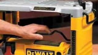 Dewalt Dw734 15 Amp 12-1/2-inch Benchtop Planer Reviews