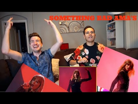 Taylor Swift - I Did Something Bad AMA Performance {REACTION}